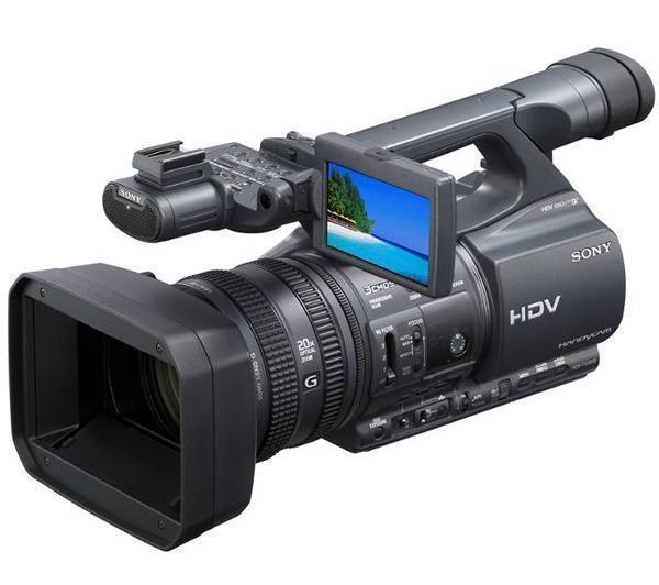 VIDEOCÁMARA MINIDV ALTA DEFINICIÓN HDR-FX1000