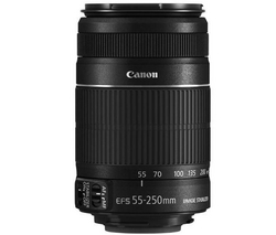 CANON OBJETIVO EF-S 55-250 MM F/4-5,6 IS II