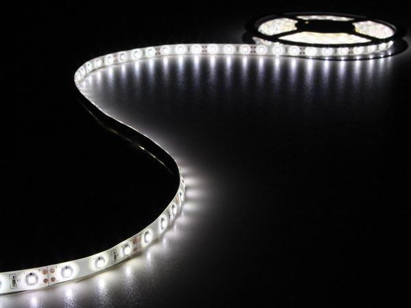 JUEGO CON CINTA DE LEDS FLEXIBLE Y ALIMENTACIÓN 300 LEDS 5M 12VDC