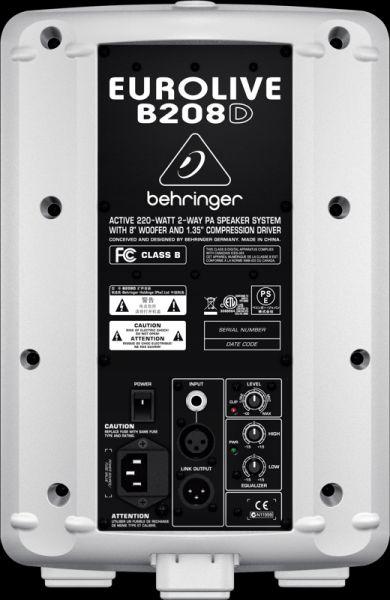 BEHRINGER EUROLIVE B208D-WH