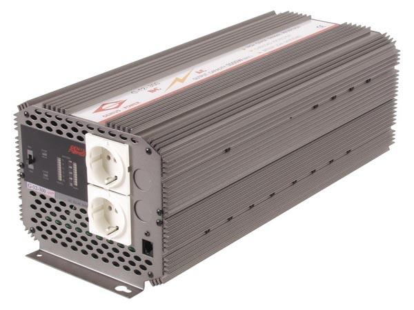 CONVERTIDOR CON ONDA SENOIDAL MODIFICADA 2500W ENTRADA 12VDC SALIDA 220VAC