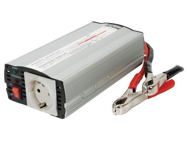 CONVERTIDOR ONDA SENOIDAL MODIFICADA 600W ENTRADA 24VDC SALIDA 220VAC