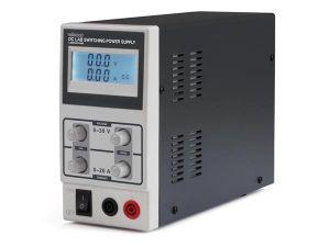 FUENTE ALIMENTACIÓN CONMUTADA DC 0-30 VDC A 0-10A PANTALLA LCD