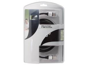2 CONECTORES USB 3.0 TIPO A MACHO PROFESIONAL