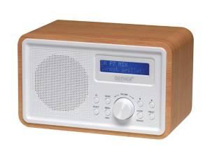 RADIO DAB FM CON ARMARIO DE MADERA