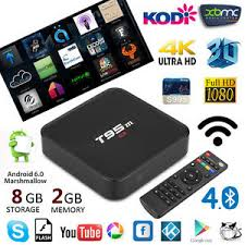 2GB+8GB T95M SMART TV  ANDROID 6.0 4K*2K XBMC KODI QUADCORE MEDIA