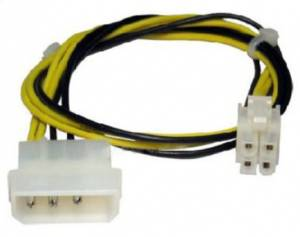 CABLE ADAPTADOR PIN MOLEX A P4/64 ATX 12V POWER CUADRADO