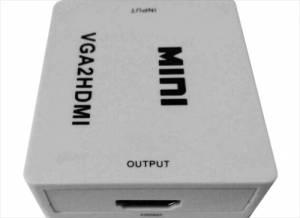 CONVERTIDOR VIDEO VGA A HDMI 1080PX