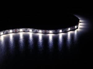 CINTA DE LEDS FLEXIBLE PLEGABLE 12V 5 METROS BLANCO FRÍO 6500 K