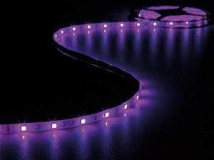 JUEGO CINTA 150 LEDS FLEXIBLE CONTROLADOR Y ADAPTADOR RED RGB 5 METROS 12V