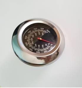 TERMOMETRO HORNO ACERO INOXIDABLE METAL 500Cº
