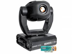 MOVING HEAD AERON 575S SPOT 575W 20 CANALES CON FUNDA DE TRANSPORTE