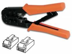 ALICATES CRIMPADORA CONECTORES MODULARES 6P4C (RJ11), 6P6C (RJ12), 8P8C (RJ45)