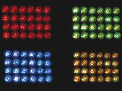 EFECTO WASH POTENTE 24 LEDS RGB 40W DMX